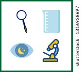 4 discovery icon. vector...   Shutterstock .eps vector #1316938697