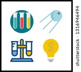 4 discovery icon. vector...   Shutterstock .eps vector #1316946494
