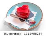 Heart Shaped Red Velvet Cake...