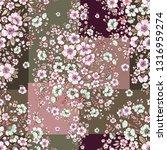 seamless beautiful pattern... | Shutterstock . vector #1316959274