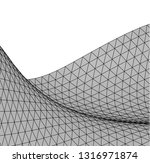 architectural drawing....   Shutterstock .eps vector #1316971874