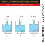 physics   cohesion and cosiness ... | Shutterstock .eps vector #1316974037