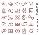 feedback. minimal thin line web ... | Shutterstock .eps vector #1316982551