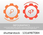 modern vector 3d illustration.... | Shutterstock .eps vector #1316987084