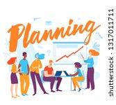 vector concept business... | Shutterstock .eps vector #1317011711
