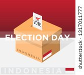 indonesia democracy political... | Shutterstock .eps vector #1317011777