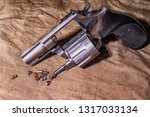 old army pistol gun.concept of... | Shutterstock . vector #1317033134
