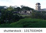 photo of the palenque palace... | Shutterstock . vector #1317033404
