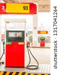 gas station and coal mining in... | Shutterstock . vector #1317041264