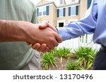 handshake deal | Shutterstock . vector #13170496