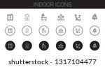 indoor icons set. collection of ...   Shutterstock .eps vector #1317104477