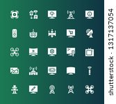 remote icon set. collection of... | Shutterstock .eps vector #1317137054