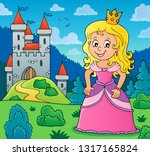 princess topic image 3   eps10... | Shutterstock .eps vector #1317165824