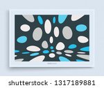 cover design template. abstract ... | Shutterstock .eps vector #1317189881