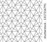 triangle pattern. vector... | Shutterstock .eps vector #1317216791