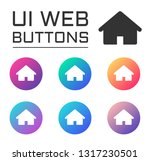home page account ui web button....