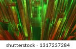 vector abstract 3d crystal. a... | Shutterstock .eps vector #1317237284