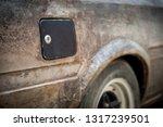 a new gas fuel tank cap on a...   Shutterstock . vector #1317239501