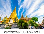temple of emerald buddha with...   Shutterstock . vector #1317327251