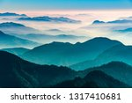 view of himalayas mountain... | Shutterstock . vector #1317410681