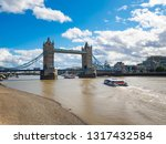 view of tower bridge over the... | Shutterstock . vector #1317432584