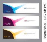 banner background.modern design.... | Shutterstock .eps vector #1317435191