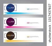 banner background.modern design.... | Shutterstock .eps vector #1317437837