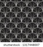 vector abstract arabesque... | Shutterstock .eps vector #1317448007