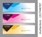 banner background.modern design.... | Shutterstock .eps vector #1317448787