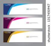 banner background.modern design.... | Shutterstock .eps vector #1317450947