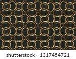 abstract classic golden pattern....   Shutterstock .eps vector #1317454721