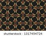 abstract classic golden pattern....   Shutterstock .eps vector #1317454724