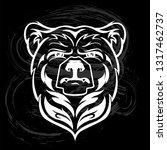 bear head mascot  vector bear...