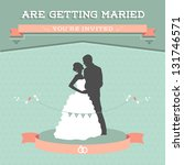 wedding invitation | Shutterstock . vector #131746571