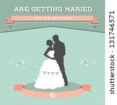 wedding invitation | Shutterstock . vector #131746571