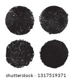 grunge distressed stamps  | Shutterstock .eps vector #1317519371