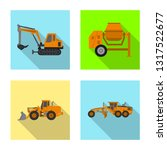 vector design of build and... | Shutterstock .eps vector #1317522677