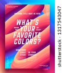 modern abstract cover design...   Shutterstock .eps vector #1317543047