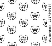 vector seamless pattern with... | Shutterstock .eps vector #1317549884