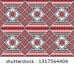traditional ukrainian folk art... | Shutterstock .eps vector #1317564404
