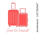 vector illustration with two... | Shutterstock .eps vector #1317565667