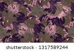 whimsical ethnic seamless...   Shutterstock .eps vector #1317589244