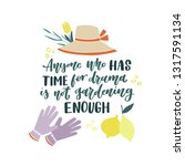 anyone who has time for drama... | Shutterstock .eps vector #1317591134