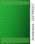 rich green saint patrick's day... | Shutterstock .eps vector #1317592217