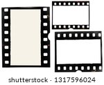 Set Of Old 35mm Film Strips Or...