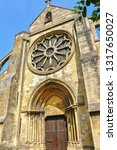 The Church Of Auvers Sur Oise...