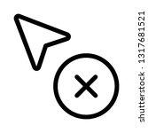 delete selection cursor point...   Shutterstock .eps vector #1317681521