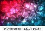 abstract bokeh background ... | Shutterstock .eps vector #1317714164