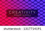 isometric abstract design ... | Shutterstock .eps vector #1317714191