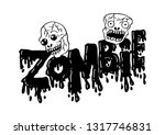 Zombie Hand Lettering